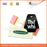 La mejor alta calidad de la venta crea la etiqueta de papel de la caída para requisitos particulares