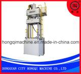Máquina que corta con tintas del metal de la prensa hidráulica de cuatro columnas