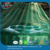 De bulk Stroken van het Gordijn van de Deur van de Harmonika van de Installatie van de Voorraad DIY Groene vinyl-Plastic