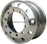 19.5 위조된 알루미늄 합금 변죽 트럭 트레일러 바퀴