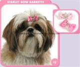 Rosa Azul Starlet Crwon Arcos mascotas, pinza de pelo, encantos del gato del perro