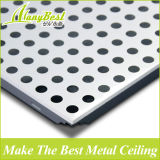 12 años de experiencia Foshan aluminio del agujero de alfiler de techo fábrica de azulejos