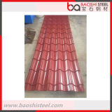 Лист толя металла красного цвета покрынный гальванизированный в хорошем цене