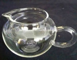 Copo de chá de vidro borosilicato pequeno, vidro de borosilicato resistente ao calor