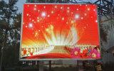 Alta pared a todo color del vídeo de la visualización LED de la definición P10