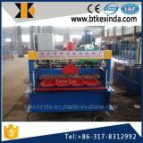Machines en aluminium de matériau de construction de feuilles de toiture du froid 840 de Kxd