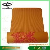 Eco-Friendly Natural Fitness Print Tapis de yoga Anti-Slip Entrance Mat
