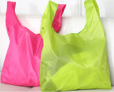 Bolso de compras llano simple plegable del color