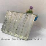 verre feuilleté de miroir ultra clair de 10mm+Silk+5mm/verres de sûreté en verre Tempered/pour la décoration