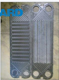 Placa H17 N35 J107 Ss304 Ss316 AISI304 del cambiador de calor de la placa de Apv
