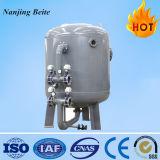 Filtro ativo automático mecânico do carbono da planta do tratamento da água