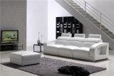Sofa en cuir moderne de meubles en gros de salle de séjour de la Chine