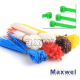 Serres-câble de la PA 66 de plastique (UV, UL)