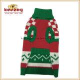 Capa 2017 del suéter del perro de la Navidad de Keezeg/suéter del perro de la ropa del animal doméstico (KH0032)