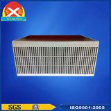 空気によって冷却されるアルミニウムは整流器脱熱器の側面図を描く