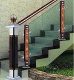 デラックスな中国の風デザイン屋内階段ガードレールのコラム