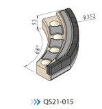Van de Micro- van de Hulpmiddelen van het Opkrikken van de pijp Bit QS21-015 Brs14 de Een tunnel gravende Schraper van Hulpmiddelen