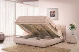 새로운 우아한 디자인 침실을%s 현대 진짜 가죽 침대 (HC1090)
