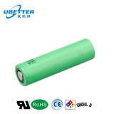 Batterie lithium-ion 3.7V d'Us18650 Sony