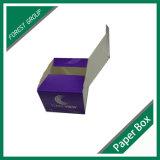 UV 니스로 칠하는 재생가능 물질을%s 가진 판지 상자 두꺼운 종이 상자