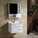 安い純木の浴室の流しベースキャビネット