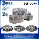 Завалка автоматической чашки воды пластичной жидкостные и машина запечатывания