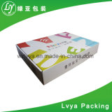 Setzt flacher Karton-Kasten der Verpackungs-2017, indem er Maschine herstellt, für Preis preiswertesten gewölbten Karton-Kasten fest