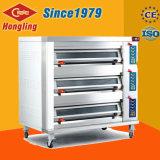 Großer luxuriöser professioneller elektrischer Ofen der Platz-Leistungs-3-Deck 9-Tray