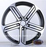 Оправы колеса сплава автомобиля стороны 16X7 17X7.5 машины F9822 v w Gti черные