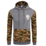 Изготовленный на заказ одежда верхней части печати пуловера спортов Hoodies способа ватки хлопка людей (AL007)