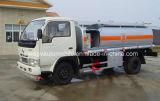 Caminhão-tanque de combustível de 5000 litros Caminhão dispensador de combustível de 5 toneladas