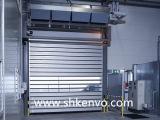 알루미늄 합금 청정실을%s 고속 회전 셔터 문