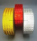 Высокий свет видимости - стикеры безопасности желтой собственной личности PVC слипчивые отражательные