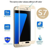 protecteur ultra clair complètement incurvé d'écran du bord 3D pour le bord de la galaxie S7 de Samsung
