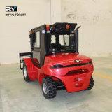 Raues Gelände-Dieselgabelstapler mit Yanmar Motor (T25Y)