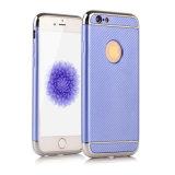 Electrochapar TPU 3 en 1 caja del teléfono móvil para la caja dura del teléfono del iPhone 7g 7plus J7 J5 2017 C7PRO S8 S8plus TPU (XS-QW01)