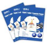 A4 het Document van de Overdracht van de Hitte van Inkjet van de Grootte voor Zuivere Katoenen Donkere & Lichte T-shirt met de Normale Printers van Inkjet