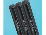 ISO-Bescheinigung-langes Lebensdauer HDPE Rohr für geplante städtische Wasserversorgung