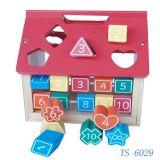 Os brinquedos educacionais, miúdo Eduactional brincam a casa, jogo educacional dos brinquedos das crianças