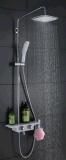 壁に取り付けられた真鍮の固体品質のシャワーのコック