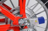 La bici urbana eléctrica del león en México con integra la rueda