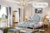 Insieme di camera da letto moderno di nuovo stile classico di legno della mobilia (9023)