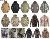 Одежда армии куртки Acu Camo тактическая Softshell V4.0 напольная воинская