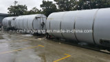 50 tonnes à l'extérieur traient le silo pour la grande industrie laitière