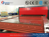 Southtech que pasa el vidrio plano que templa el horno de producción con el sistema forzado de la convección (series de TPG-A)