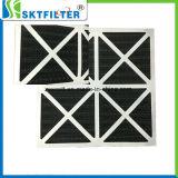 Filtro Foldaway de la cartulina de los media del carbón