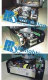 新しいデザイン7*12W RGBW 4in1多色刷りLED移動ヘッドビームズームレンズ