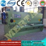 Горяче! QC12y-4X2500 гидровлический луч качания (CNC) режет машину