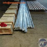 중국은 구리에 의하여 도금된 강철 지상 로드를 만들었다