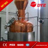 De la destilería del brandy de la ginebra de la vodka del alcohol todavía del cobre equipo